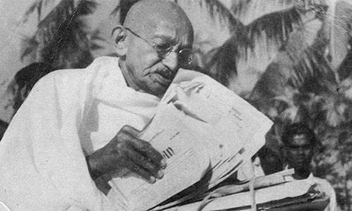 مشتری از دیدگاه ماهاتما گاندی