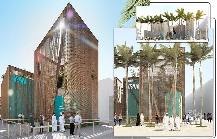 پاویون ایران در اکسپو ۲۰۲۰ دبی